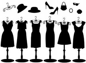 kombinace šatů